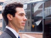 Reflektierendes Profil Lizenzfreie Stockfotografie