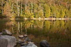 Reflektierendes Wasser Stockfoto