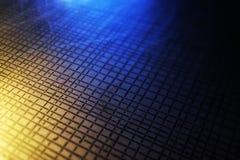 Reflektiertes Licht auf einer Ätzung eine Skizze Lizenzfreie Stockfotos