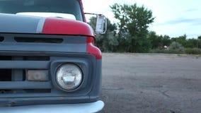 Reflektor i zderzak stary Amerykański samochód zbiory