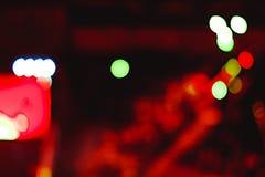 Reflektory przy koncertem obrazy stock