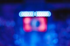 Reflektory przy koncertem zdjęcia stock