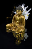 Refletir de Buddha Foto de Stock