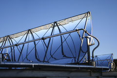 Refletor das energias solares Foto de Stock Royalty Free