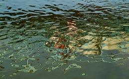 Reflexão abstrata da água Imagem de Stock