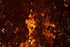 Reflexão clara na parede de vidro da mancha Imagem de Stock