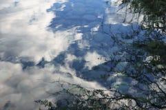 Reflexão da água foto de stock royalty free