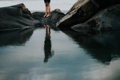 Reflexão da água Fotografia de Stock Royalty Free
