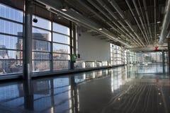 Reflexão da arquitetura fotografia de stock