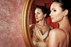 Reflexão da beleza Imagem de Stock Royalty Free