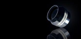 Reflexão da câmera da lente Imagem de Stock Royalty Free