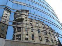 Reflexão da casa antiga Imagem de Stock Royalty Free