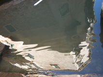 Reflexão da casa em Venise Foto de Stock Royalty Free