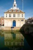 Reflexão da casa feita sob encomenda Imagens de Stock Royalty Free