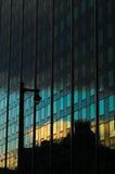 Reflexão da construção Imagens de Stock Royalty Free