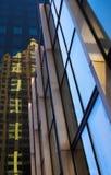 Reflexão da construção Imagem de Stock Royalty Free