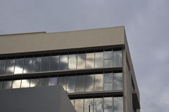 Reflexão da construção Foto de Stock Royalty Free