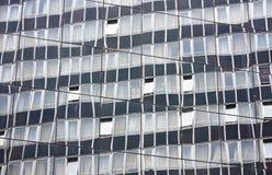 Reflexão da construção Fotos de Stock