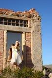 Reflexão da dança Fotografia de Stock