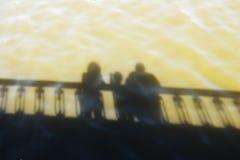 Reflexão da família Imagem de Stock