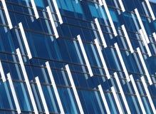 A reflexão da janela modela o fundo fotografia de stock