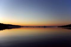 Reflexão da manhã Foto de Stock