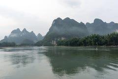 Reflexão da manhã de Xingping Fotografia de Stock