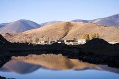 Reflexão da montanha Fotografia de Stock