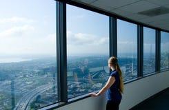 Reflexão da opinião do escritório Imagem de Stock