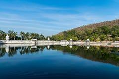 Reflexão da paisagem Foto de Stock