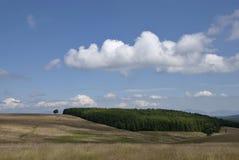 Reflexão da terra no céu Fotos de Stock Royalty Free