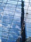 Reflexão da torre da liberdade imagem de stock royalty free