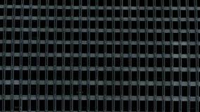 Reflexão das nuvens no prédio de escritórios Windows filme