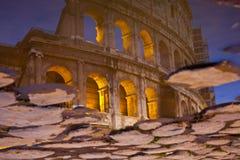 Reflexão de Coluseum Fotos de Stock Royalty Free