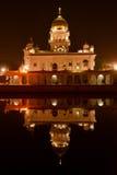 Reflexão de Gurudwara na água Foto de Stock Royalty Free