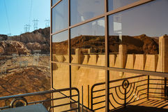 Reflexão de Hoover Foto de Stock Royalty Free