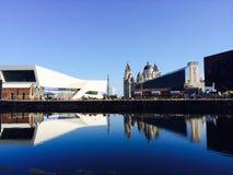 Reflexão de Liverpool Imagens de Stock