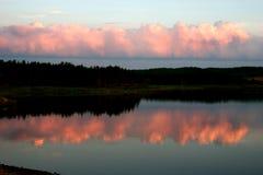 Reflexão de Nova Escócia foto de stock royalty free