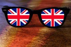 Reflexão de Reino Unido ilustração royalty free
