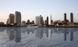 Reflexão de San Diego Imagens de Stock