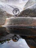 Reflexão de Shiva Imagens de Stock Royalty Free