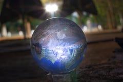 reflexão de um scape da noite fotografia de stock royalty free
