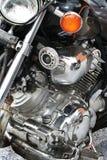 Reflexão de uma motocicleta dos esportes Imagens de Stock Royalty Free
