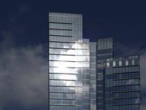 Reflexão de vidro Imagens de Stock