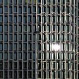 Reflexão de vidro Imagem de Stock