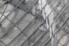 Reflexão de vidro complexa imagem de stock