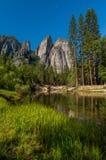 Reflexão de Yosemite Foto de Stock Royalty Free