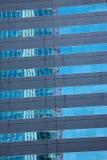 Reflexão distorcida de um edifício Foto de Stock
