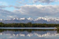 Reflexão do Alasca fotos de stock