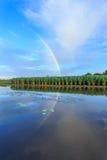 Reflexão do arco-íris Imagem de Stock